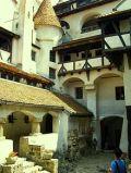 castillo Bran, patio interior, castillo de Dracula