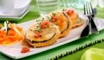 berebjenas rebozadas con jamon y queso, eRUMANIA, aperitivos, primeros