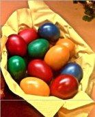 cozonac-si-oua-vopsite / cozonac y huevos pintados / Pascua, Rumania, eRumania