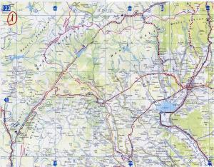 ruta 1, Rumania map, eRumania, harta de Romania, ruta por los Cárpatos Meridionali