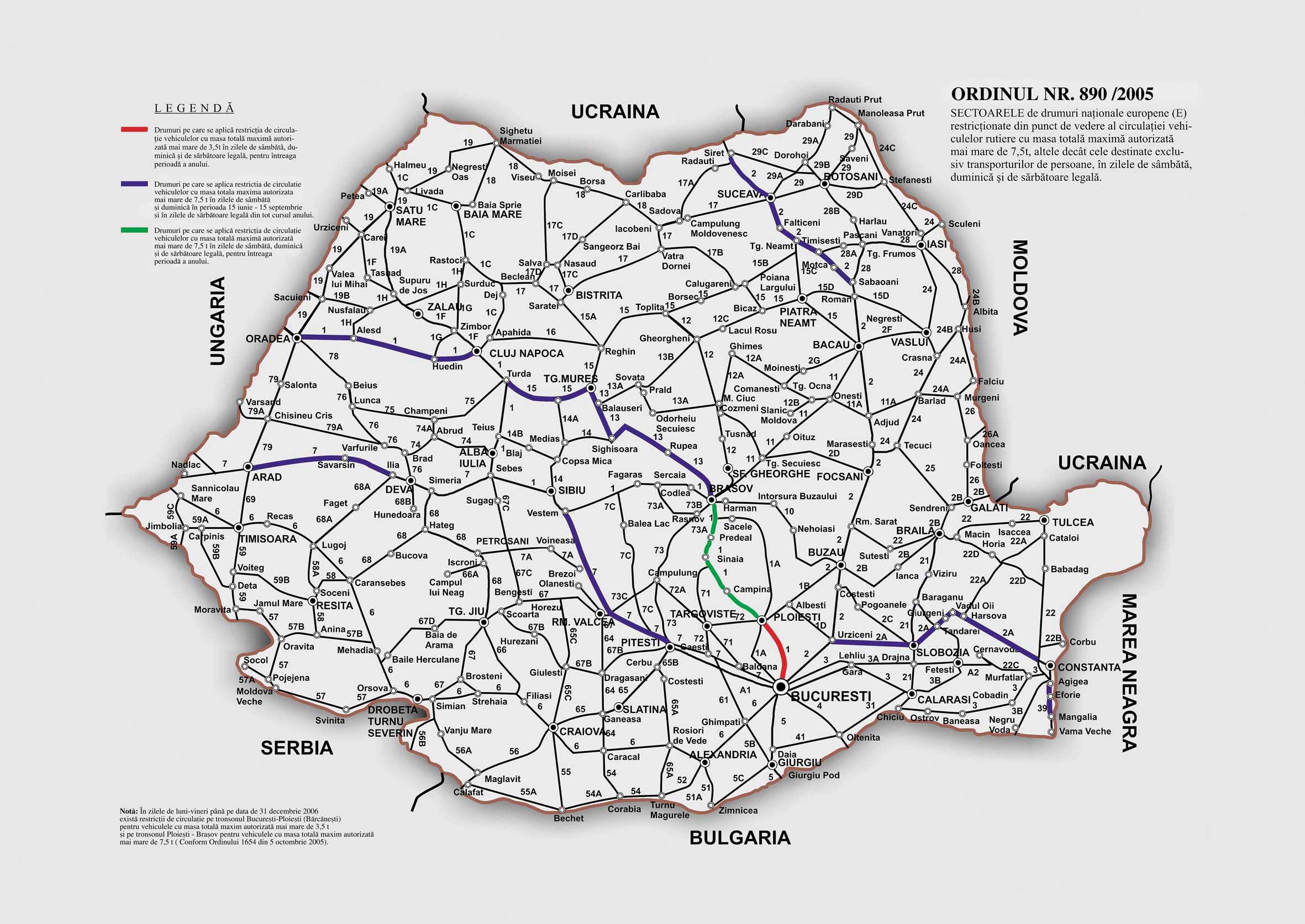 Europa Mapa De Carreteras Europa Harta De Rutiera Erumania