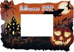 halloween-7.Marco para fotos con motivos de Halloween . Epson creation.